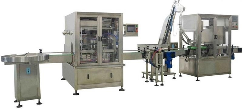 Sauce packing line